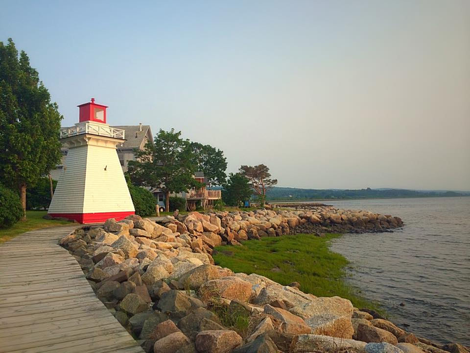 Lighting the Way -- Annapolis Royal, NS by Michael Deats
