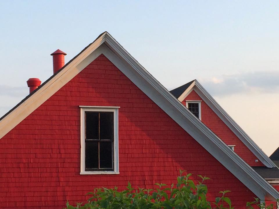 Sunset Gables -- Lunenburg, NS by Michael Deats