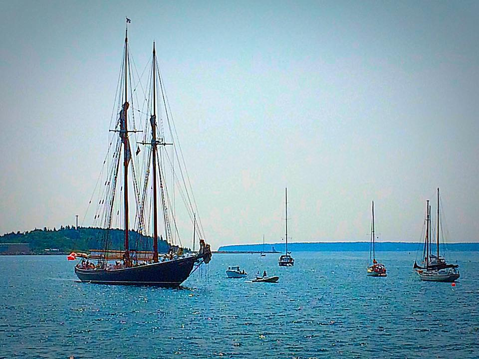 Bluenose II -- Lunenburg, NS by Michael Deats