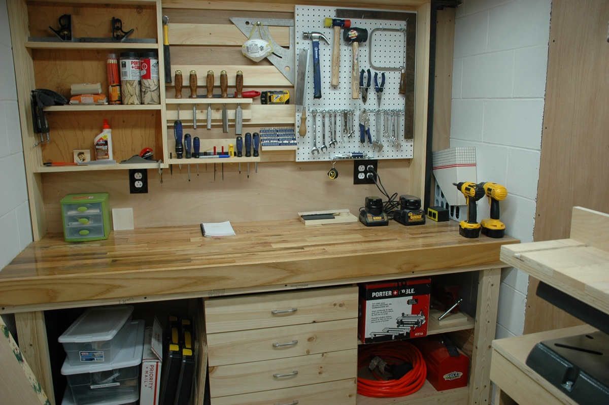Planning A Woodworking Shop Relatively Random